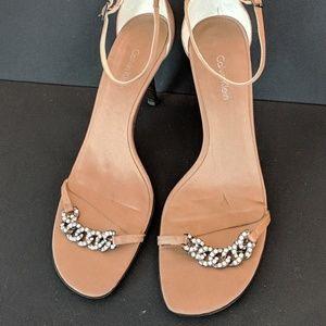 90s vintage Calvin Klein dainty chain ankle strap